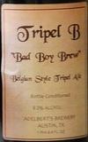 Adelbert's Triple B Beer
