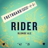 Fretboard Rider Blonde beer