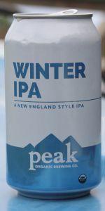 Peak Organic Winter IPA beer Label Full Size
