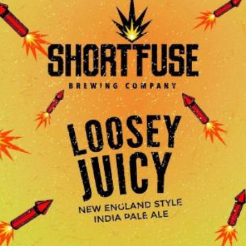 Short Fuse Loosey Juicy beer Label Full Size