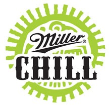 Miller Chill beer Label Full Size