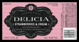 Delicia Strawberries & Cream Beer