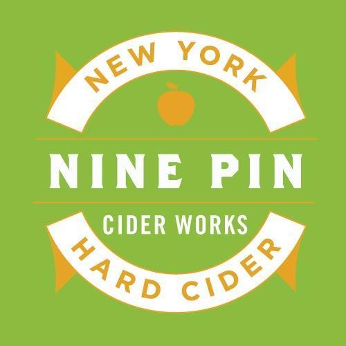 Nine Pin Braeburn Maple beer Label Full Size