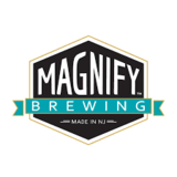 Magnify Double Coffee It's Dam Cool Beer