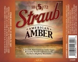 Straub American Amber Beer
