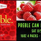 Fore River Prebble (Raspberry Sour) beer