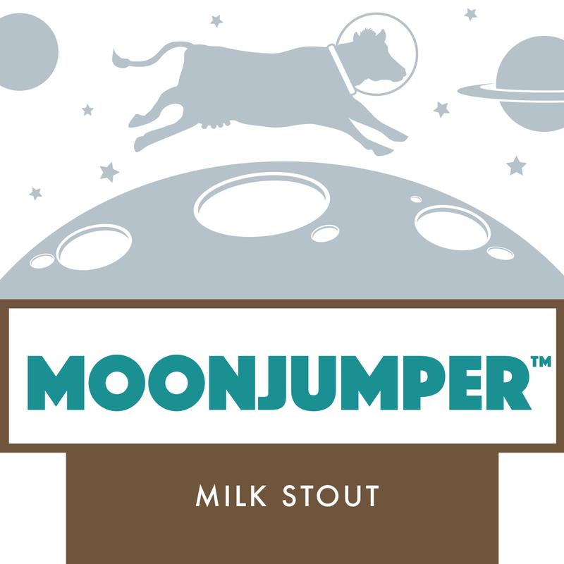 DESTIHL Moonjumper beer Label Full Size