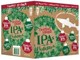 """Dogfish Head """"IPA's For The Holidays"""" Variety Beer"""