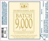 Bell's Bourbon Barrel-Aged Batch 9000 Ale beer