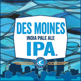 Confluence Des Moines IPA beer