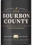 Goose Island Bourbon County Stout 2012 beer