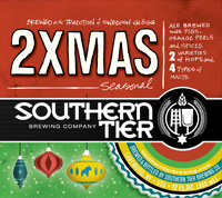 Southern Tier 2XMAS beer Label Full Size