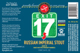 Flying Fish Exit 17 Russian Imperial Stout beer