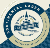 Church Street Continental beer