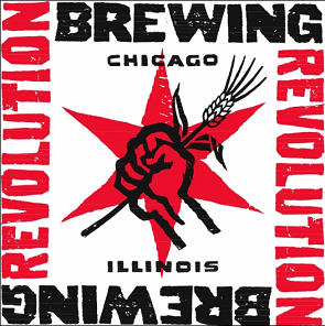Revolution Funke blue beer Label Full Size