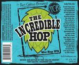 Fort Collins The Incredible Hop Wet Hop IPA beer