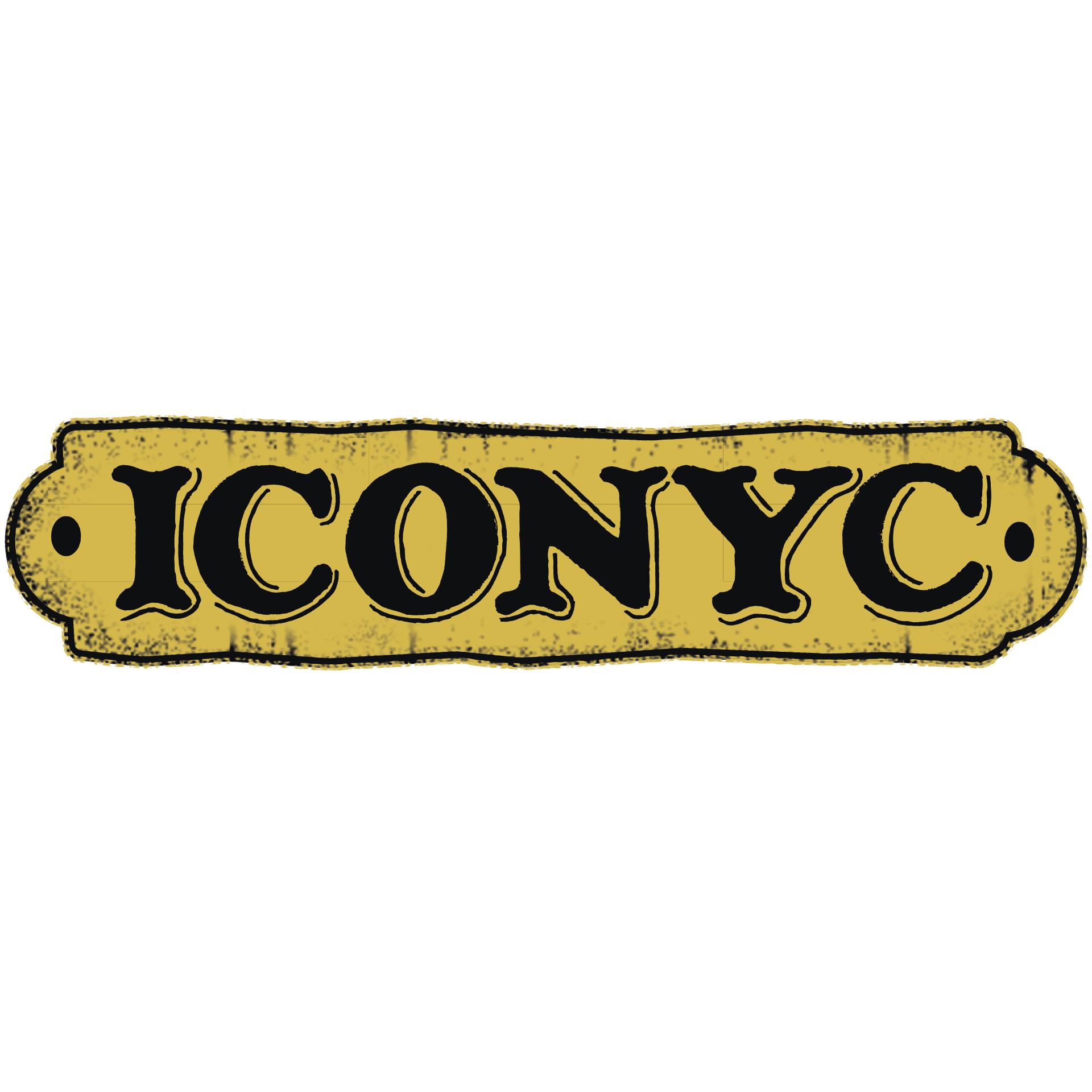 ICONYC Crema Blonde beer Label Full Size