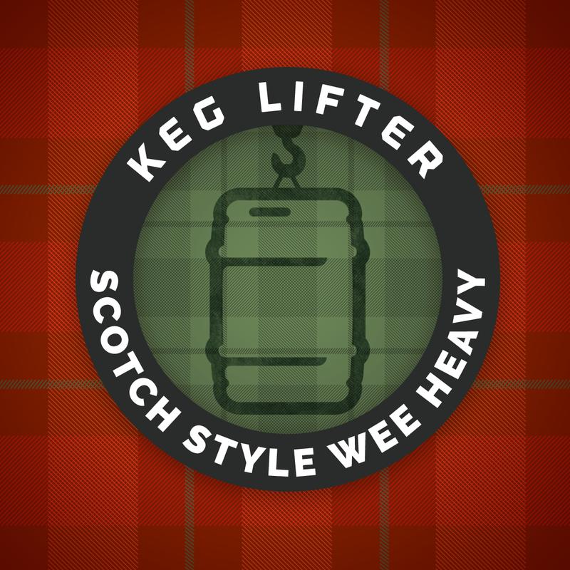 Keg Lifter   26.8 IBU's beer Label Full Size