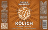 Double Mountain Kolsch beer