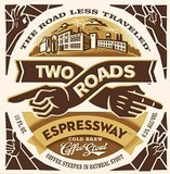 Two Roads Nitro Espressway Cold Brew Coffee Stout Beer