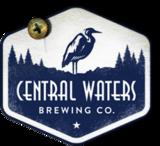 Central Waters Belgian Style Quadruple ALE Bourbon Barrels Aged beer