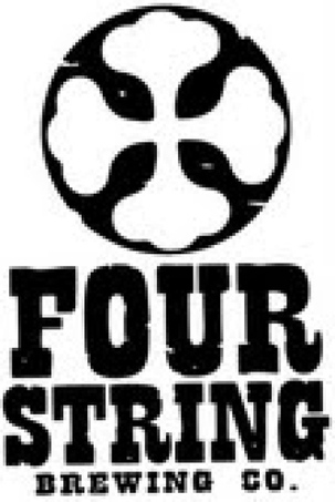Four String Big Star White IPA beer Label Full Size