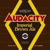Back East Audacity Imperial Brown beer
