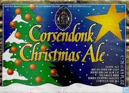 Corsendonk Christmas Ale 2017 beer Label Full Size