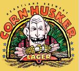 Heartland Cornhusker Lager beer