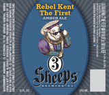 3 Sheeps Rebel Kent The First Amber Beer