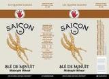 Left Hand Saison Au Ble de Minuit beer