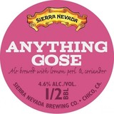 Sierra Nevada Anything Gose Beer