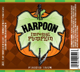 Harpoon Imperial Pumpkin Stout beer