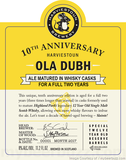 Harviestoun Ola Dubh 10th Anniversary Beer