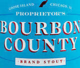 Goose Island Proprietor's Bourbon County Stout 2017 beer Label Full Size