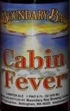Boundary Bay Cabin Fever beer