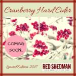 Red Shedman Cranberry Cider beer