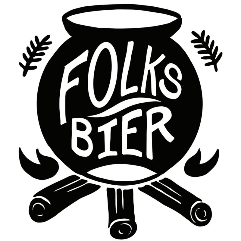 Folksbier Magdalena Farmhouse Ale beer Label Full Size