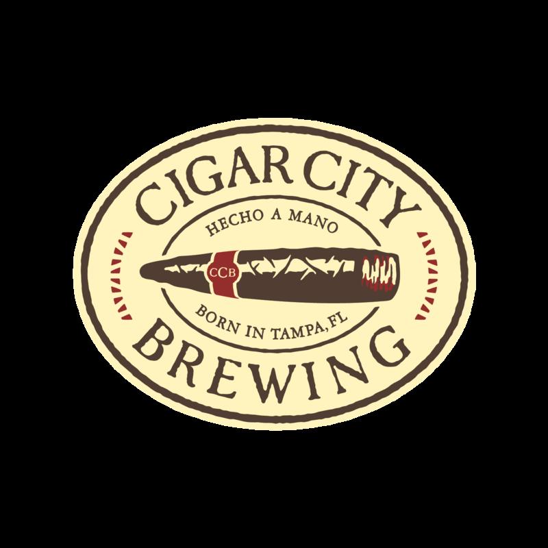 Cigar City Café Con Leche beer Label Full Size