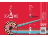Platform Cherry Donut Pie beer