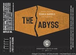 Deschutes The Abyss Tequila Barrel 2017 beer Label Full Size