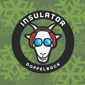 Insulator Doppelbock beer Label Full Size