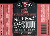 Victory Blackboard Series #7: Black Forest Cake Stout with Cherry Beer