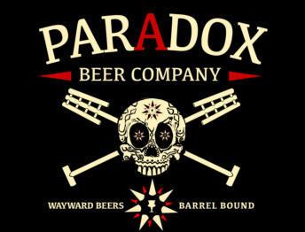 Paradox Skully Barrel No. 54 Cherry Crisp beer Label Full Size