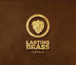 Lasting Brass 1st Anniversary Maple Imperial Stout beer Label Full Size