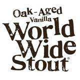 Dogfish head Oak Aged Vanilla World Wide Stout Beer