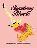 Destihl Strawberry Blonde beer