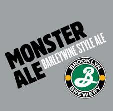 Brooklyn Monster Ale 2012 beer Label Full Size