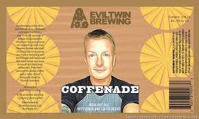 Evil Twin/Omnipollo Coffenade IPA beer Label Full Size