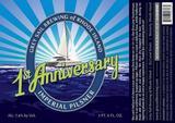 Grey Sail 1st Anniversary Imperial Pilsner beer